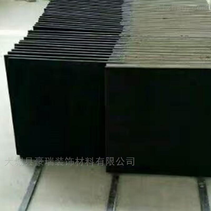 大城县豪瑞岩棉黑色玻纤吸声板