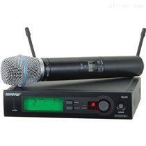 Shure話筒 舒爾無線手持麥克風 超心形電容