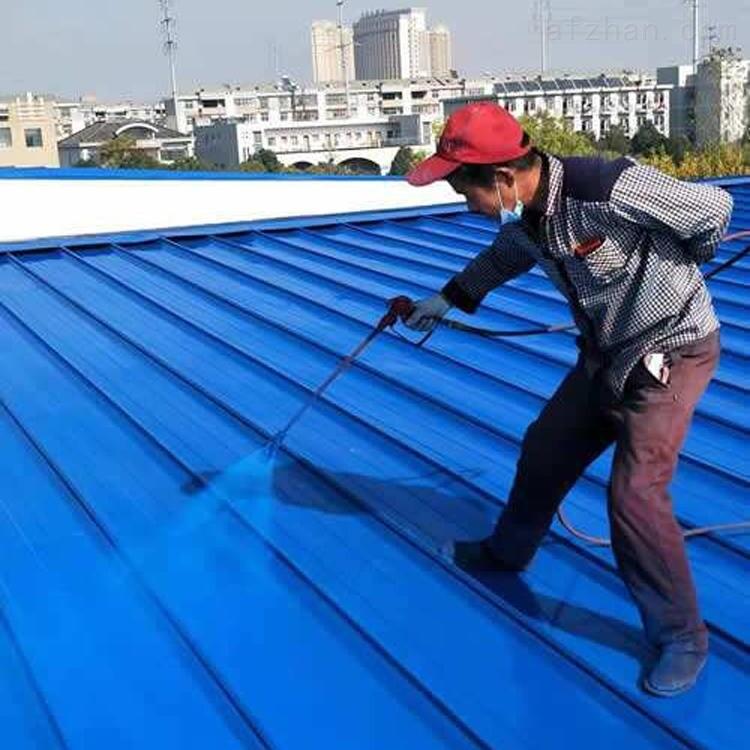 水性彩钢屋顶除锈喷漆具体实施方法