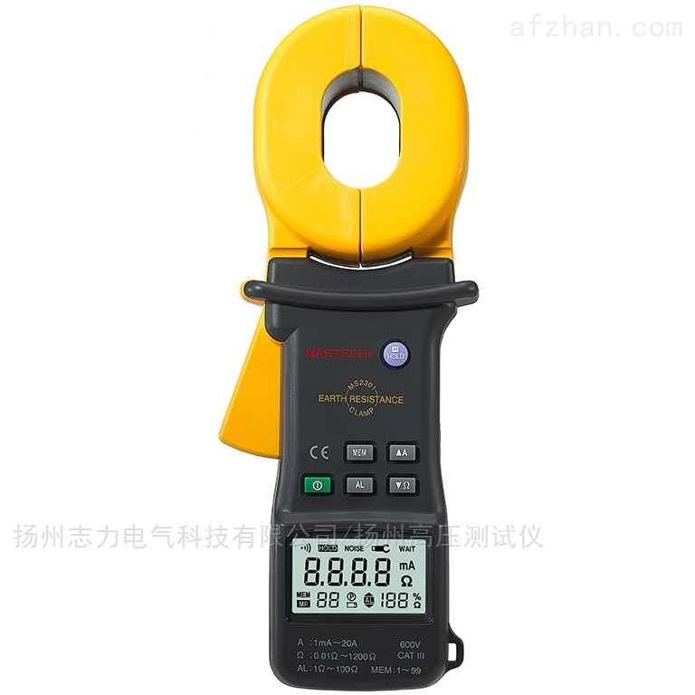 钳式接地电阻测试仪