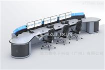 海力鑫控制臺-信息中心多功能弧形操作臺