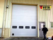 上饶铝合金工业提升门安装