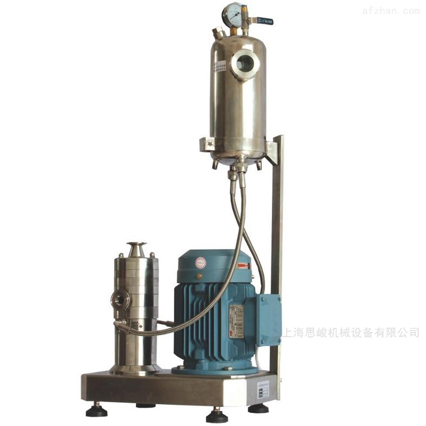 鄂聚醚型水性树酯乳液高速乳化机