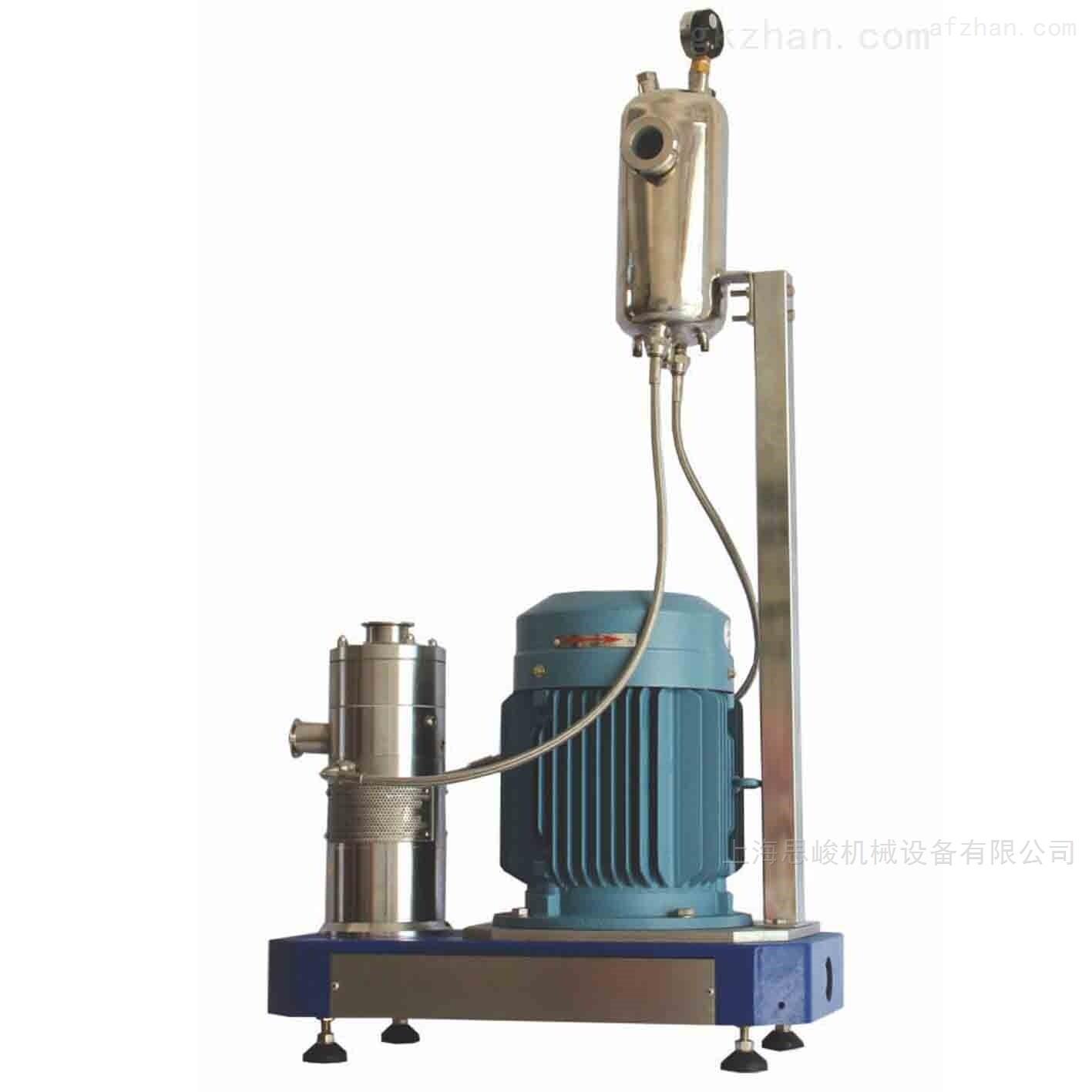 鲁高稳定性橡胶促进剂高速乳化机