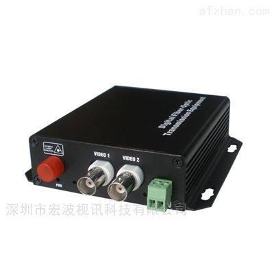 水利工程监控高清光端机2路视频 +1路数据