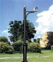 室外小区监控立杆 加长不锈钢摄像头支架