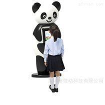 上海幼兒晨檢機器人AI人臉識別測體溫無接觸