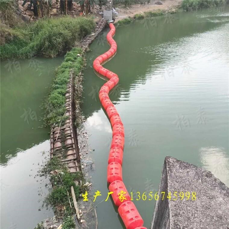 柏泰2021款塑料浮筒式拦污漂