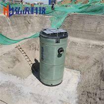 寧夏一體化泵站玻璃鋼泵站雨水提升泵站廠家