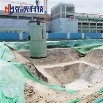 弘泱一體化預制泵站廠家玻璃鋼污水雨水泵站
