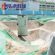 四川城市污水提升泵站一體化泵站