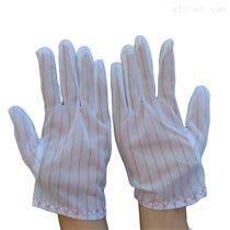工廠直銷防靜電雙面條紋手套