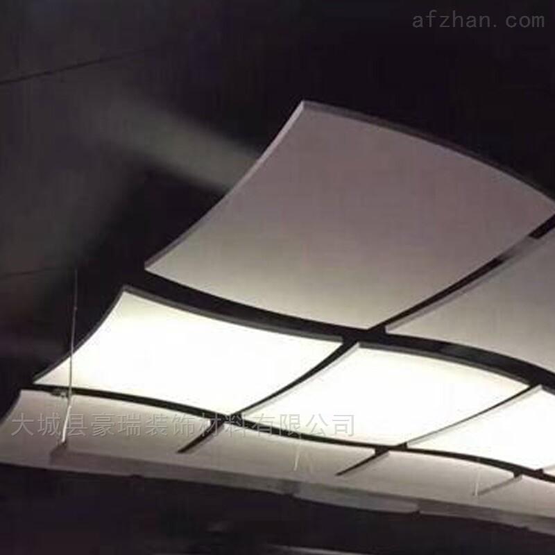 豪瑞岩棉玻纤防火吸音板,造型垂片