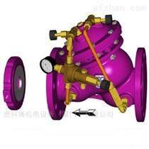 进口球墨铸铁水力定流量阀