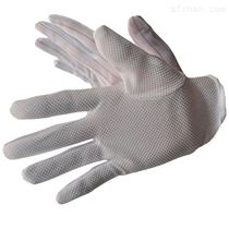 工業防靜電手套 防滑帶膠點手套