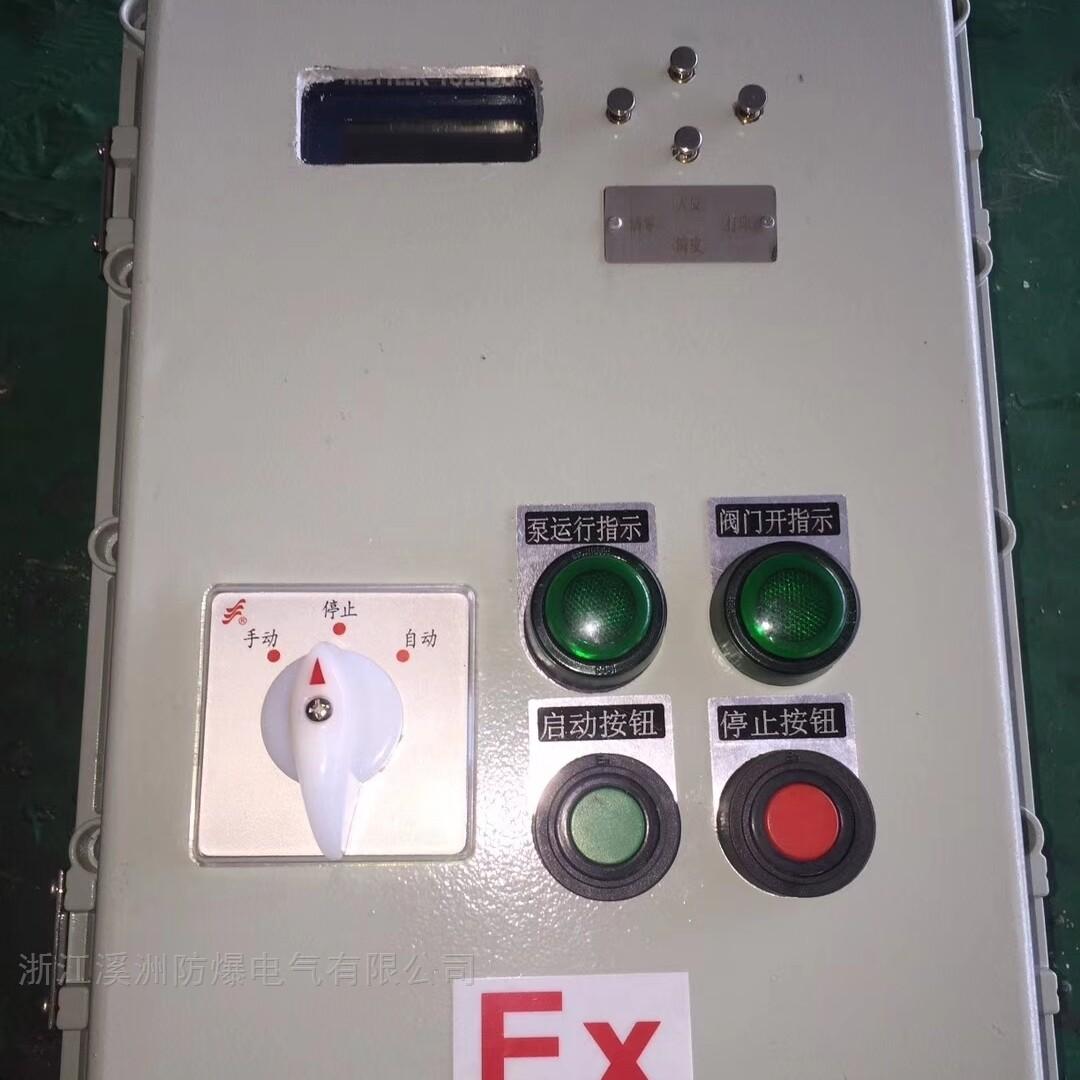 油泵防爆仪表控制箱