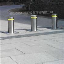 大厦停车场自动升降柱 智能防恐升缩路桩