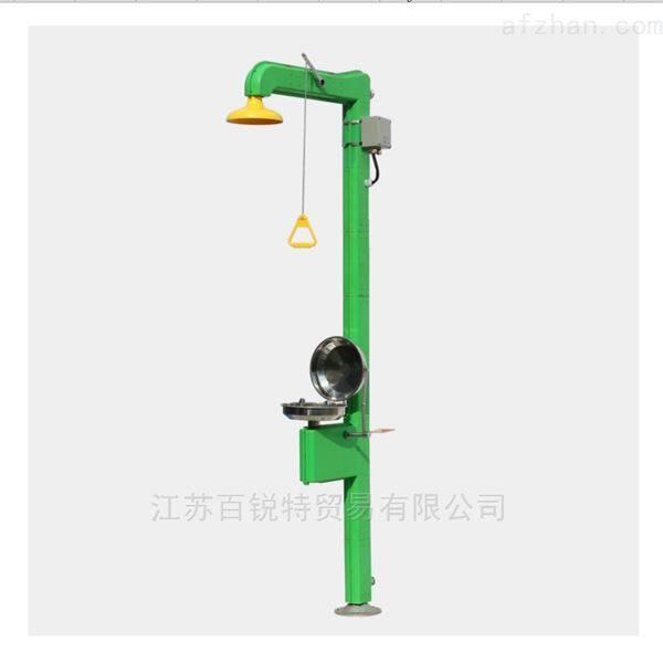 AHF92复合式电伴热不锈钢翻盖洗眼器