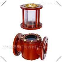 上海全冠船用法兰式铸铁铸钢镜式液流观察器