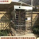 NGM三桿式旋轉立柱滾閘門 封閉式90度全高轉閘