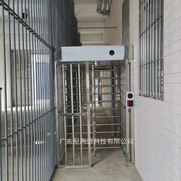 监獄全封闭转闸 高档小区旋转门