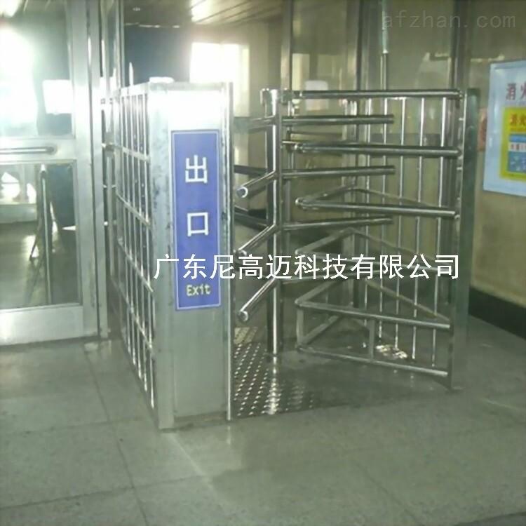 考场出入口手动单向门 逆向旋转滚闸