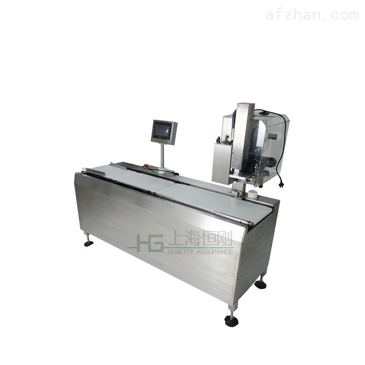 在线称重量打印贴标机 高速自动贴标称重机