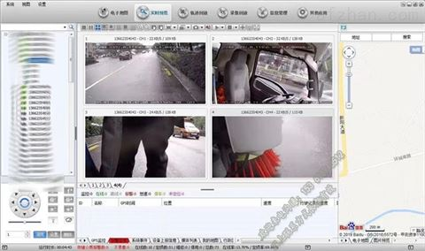环卫车视频监控设备_垃圾车BSD盲区