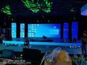广州展会舞台户外P8LED显示屏LED大屏幕