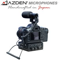 Azden 阿兹丹单反、DV用2路便携调音台
