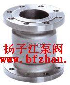 H42H/W不锈钢法兰立式止回阀