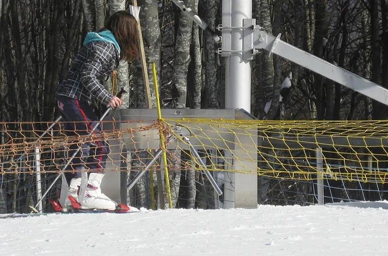 滑雪场闸机