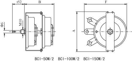 BC1型旋臂式变阻器