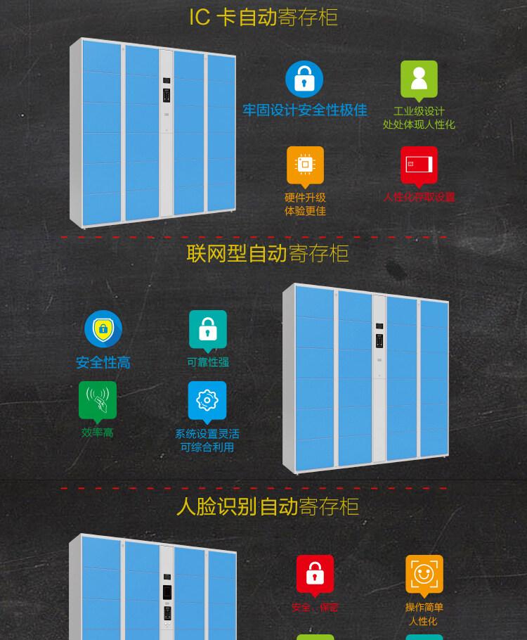 厂家直销 刷卡更衣柜 批发直销 包运输安装 支持储物柜定制示例图8