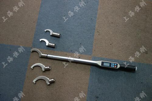 螺栓数显式扭力扳手图片(可配勾型头)