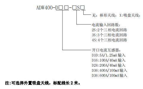4s无线模块_ADW400-D24-3S-3路三相电能无线计量模块ADW400-D24-3S-江苏安科瑞电器 ...