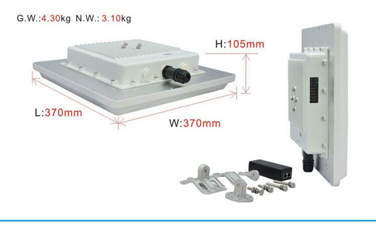 ST5818H无线传输设备尺寸