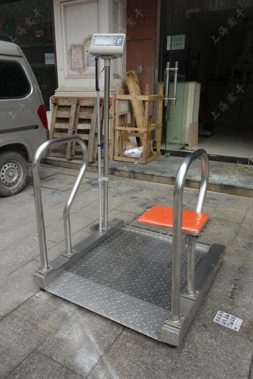 不锈钢轮椅体重秤
